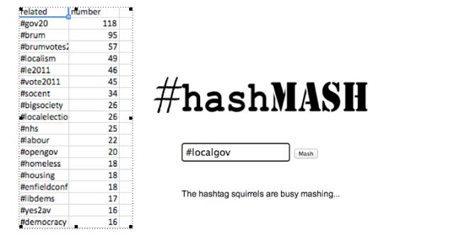 Hashmash Screen Shot (edited)