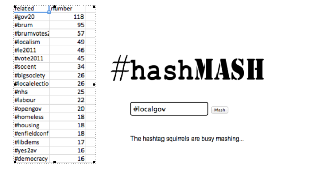 Hashmash Screen Shot (edited)
