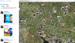Twitter tool Bing map photo search