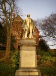 Statue of Edward Geoffrey Stanley: The Earl of Derby 1799-1869