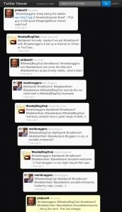 Twitter conversation about the sociable enterprise